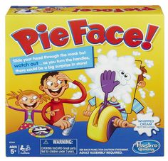 This game looks like so much fun! family game night! Pie Face Game