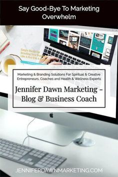 Marketing your spiritual or creative, coaching or health and wellness business has never been easier! Jennifer Dawn Marketing offers complete branding and marketing solutions for your online business marketing strategies. I help entrepreneurs and small business owner get in front of a highly targeted audience of people . Brand your business professionally, network with other entrepreneurs and leaders in the industry and build strong affiliate partnerships. Offering Sales Funnels, Website… Social Media Branding, Branding Your Business, Social Media Marketing, Email Marketing, Business Marketing Strategies, Marketing Ideas, Website Design Services, Pinterest Marketing, Networking Events