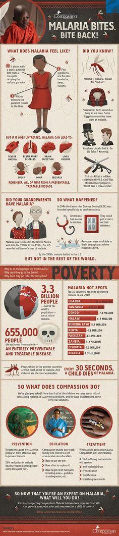 [Infographic] Malaria Bites. Bite Back!