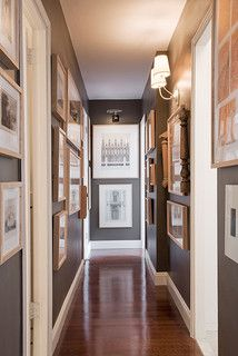Fort Greene Apartment - traditional - hall - new york - by Industrial Pantheon, LLC.