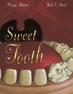 Sweet Tooth by Margie Palatini. a great book about self control and healthy eating. a fun thing to do while reading this book is to do a new york accent when reading the sweet tooth's lines :) the way it was written lends itself to that accent.
