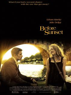 Filled with engaging dialogue, Before Sunset is a witty, poignant romance, with natural chemistry between Hawke and Delpy.