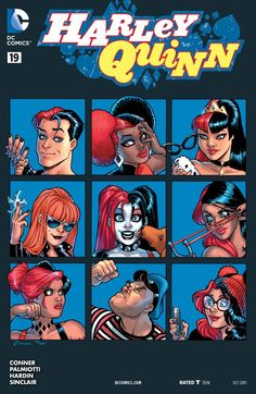 Harley's finding out just how hard it is to be the boss! - Harley Quinn #19