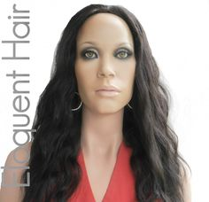 EloquentHair  - Peruvian Natural Wave Half Wig(http://www.eloquenthair.com/peruvian-natural-wave-half-wig/)
