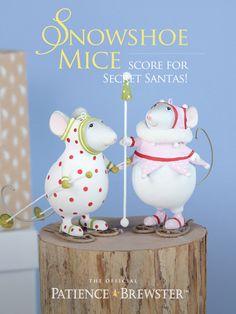 Snowshoe Mice score for Secret Santas!
