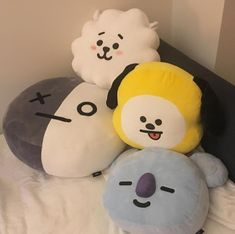 Uploaded by ☆. Find images and videos about girl, cute and beauty on We Heart It - the app to get lost in what you love. Kawaii Plush, Cute Plush, Bts Doll, This Is A Book, Army Room Decor, Line Friends, Kpop Merch, Kpop Aesthetic, Plushies