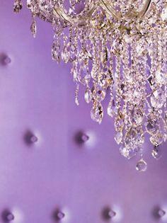 Purple & Crystal
