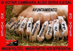 CNT-AIT PUERTO REAL POR LA ABSTENCION EN LAS ELECCIONES MUNICIPALES | CNT Puerto Real