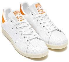 adidas Originals STAN SMITH [RUNNING WHITE / RUNNING WHITE / TACTILE ORANGE] S82254