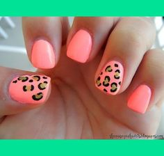 Pink Cheetah Nails | Dajah C.s Photo | Beautylish