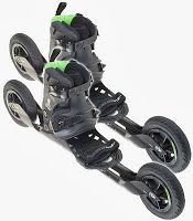 ESQUÍ SOBRE RUEDAS Offroad, Scooter Bike, Inline Skating, Cross Country Skiing, Longboarding, Roller Skating, Cool Gadgets, Skate, Tecnologia
