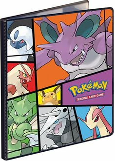 ULTRA PRO POKEMON SILHOUETTES ENERGY PRO-BINDER CARD HOLDER 20 PAGES FOR CARDS