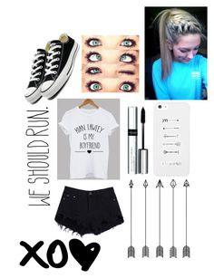 """Meeting Fans With Kian"" by xxx-izzy-xxx ❤ liked on Polyvore featuring Chloé, LG, By Terry and Converse"