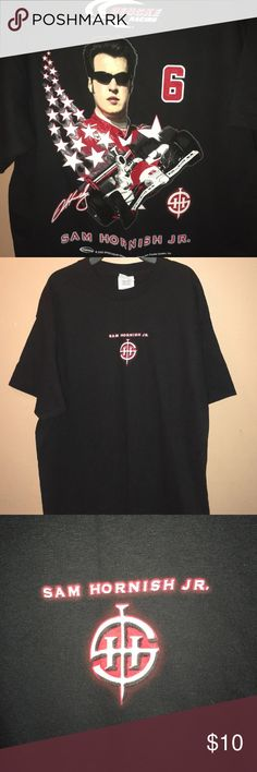 be8f6a32 Sam Hornish Jr NASCAR Black T Shirt - NWOT Brand new never worn item.