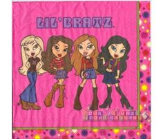 We Sell Lil Bratz Kids Birthday Party Supplies Including Hard To Find And Vintage Decorations Tableware Favors So Much More
