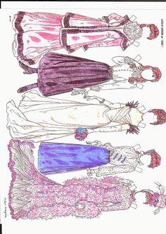 Leslie Caron as Gigi paper dolls by Ralph Hodgdon    27 juli 2014 - Ulla Dahlstedt - Picasa Web Albums LC 1 0f 3