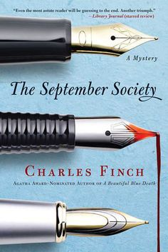 """The September Society (Charles Lenox Mysteries, #2)"" by Charles Finch --- 15 July 2012 / Completed Book #57"