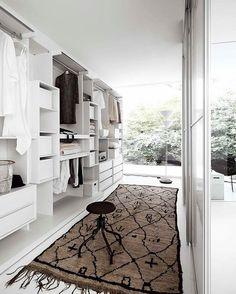 #Repost @design_interior_homes ・・・ Modern white walk in closet from @livareade…