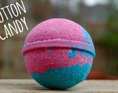 Cotton Candy Bath Bomb Melt Away Bath Bombs on Etsy