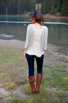 Crochet Back Tunic! | Jane