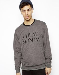 Cheap Monday Sweat with Embroidery