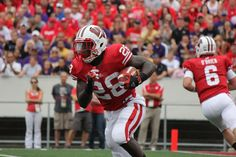 Montee Ball on his way to another touchdown.