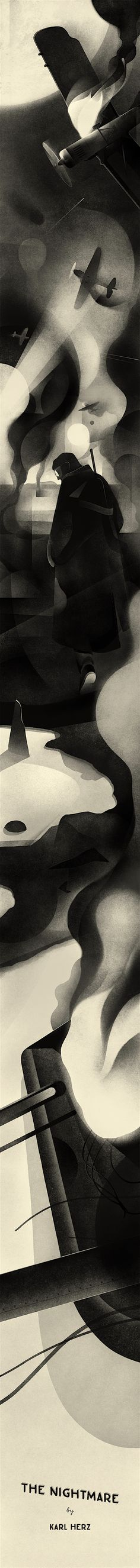 Dribbble - war-strautniekas-illustration-behance2.jpg by Karolis Strautniekas