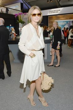 We'll trade one old Gap button up for this dress, PLEASE. | 29 Times We Wished We Could Trade Wardrobes With Olivia Palermo