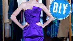 How to Make a Strapless Dress That Won't Slide Down