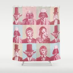 Pop Wars Shower Curtain
