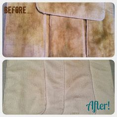 Diy stain removal, Fill up a sink or large bucket with VERY HOT water, then add:      1 cup laundry detergent     1 cup liquid or powder dishwasher detergent     1 cup bleach     1 cup white distilled vinegar     3/4 cup borax