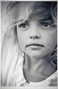 "♀ Black & white photography beautiful girl ""Just like you"" by Nina-Milena Schreyer"