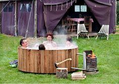 Dutchtub Wood Fired Hot Tubs