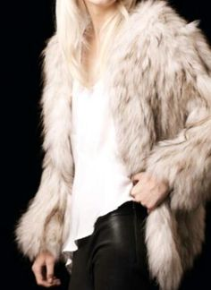 A girl can never have too many fur coats...