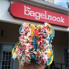 The Bagel Nook breakfast & lunch is the new funky and fun bagel store that serves way more than just bagels. With micro batch cream cheese flavors.