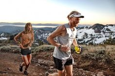 Anton Krupicka and Geoff Roes at Western States 100 #ulta running