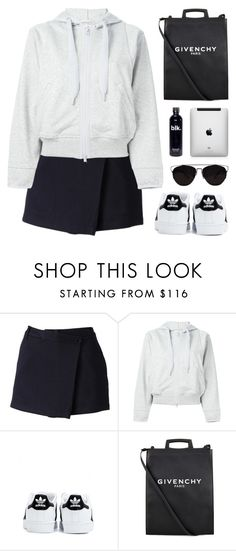 """""""Let's find a light inside our universe now"""" by novalikarida ❤ liked on Polyvore featuring adidas and Givenchy"""