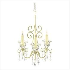 Shabby Elegance Scrollwork Candleholder - Style 38369 --- http://www.pinterest.com.tocool.in/50s