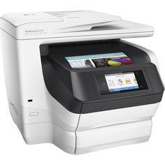 HP Officejet Pro 8730 Inkjet Multifunction Printer - Color - Plain Paper Print - Desktop - Copier/Fax/Printer/Scanner - 36 ppm ppm Color Print - 2400 x 1200 dpi Print - Automatic Duplex Print - 1 x Input Tray 250 Sheet, 1 x Output Tray 150 Sheet - Printer Price, Hp Printer, Printer Scanner, Laser Printer, Inkjet Printer, Wi Fi, Hp Officejet Pro, Wireless Printer, Multifunction Printer
