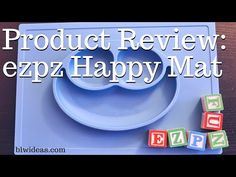 Product Review: ezpz Happy Mat - Baby Led Weaning Ideas