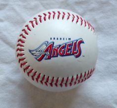 Anaheim Angels Opening Day Baseball April 2, 1997  #Rawlings #AnaheimAngels