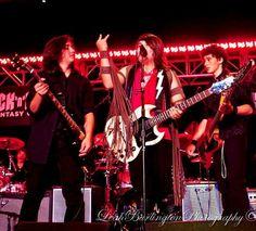 Johnathon Mann and Clayton Mann. Rock Fantasy Camp, MGM Grand, Las Vegas 2012.