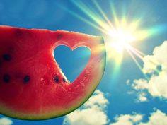 Lanie Buck: Summer Inspired Watermelon in the Sky Manicure