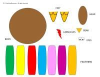 The Gobble Gobble Game {Fun game that works on colors}