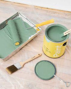 OMGreen   Seafoam Green Paint Color   Clare   Clare Green Paint Colors, Wall Paint Colors, Painting Trim, Painting Doors, Paint Brands, Cool Paintings, Sea Foam