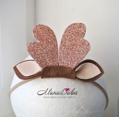 Christmas Accessories, Diy Hair Accessories, Felt Headband, Baby Headbands, Christmas Hair Bows, Christmas Crafts, Felt Crafts, Diy And Crafts, Boutique Bows