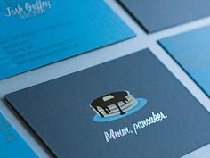 45 Most Creative Business Cards using Illustrations