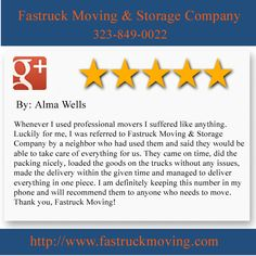 Fastruck Moving & Storage Company 11818 Riverside Dr Ste 118 Valley Village, CA 91607 (323) 849-0022  http://www.fastruckmoving.com/north-hollywood-movers/