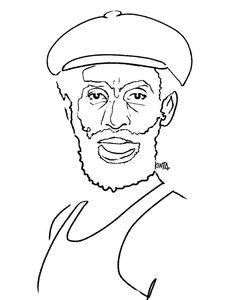 #LeePerry #dub #portrait #illustration #kentaueoka #ウエオカケンタ