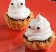 Throw a spooktacular #Halloween bash with sweets, like @athensfoods Boo Bites Phyllo Treats!